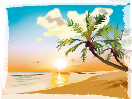 Summer shore