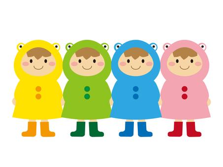 Raincoats Children