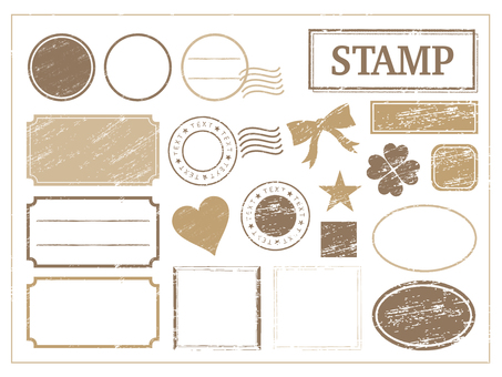 Stamp tea frame 1