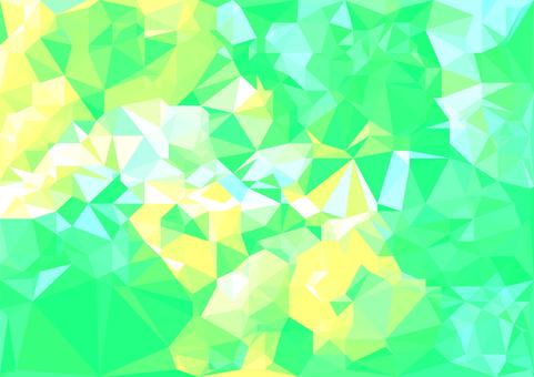 緑色のデジタルポリゴンベクター背景素材