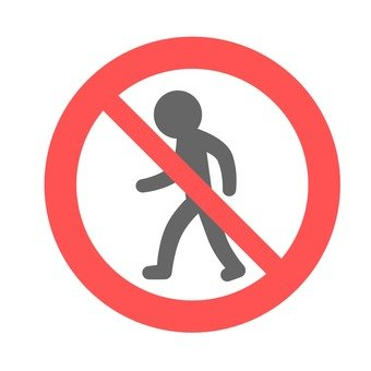 Sign (pedestrian traffic control)