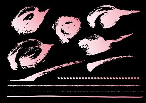 Brush _ Rough 2 _ Pink