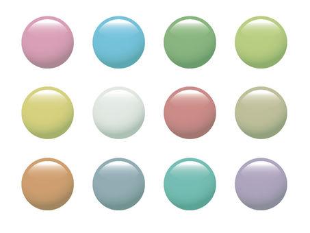 Button material set