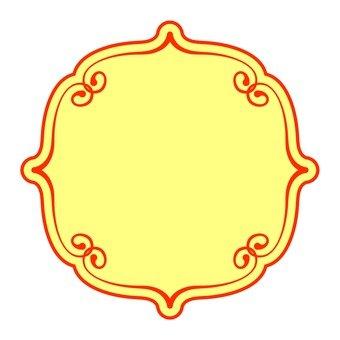 Chinese style pattern