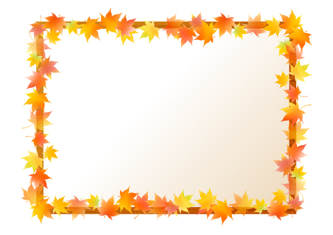 Autumn Maple Frame 3
