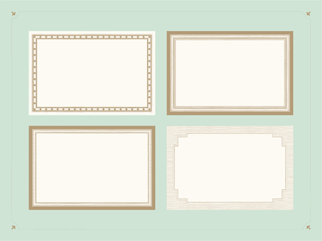 Vintage style label material 1
