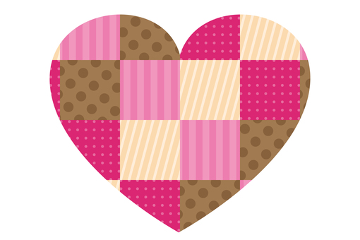 Patchwork Heart icon