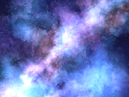 Universe galaxy starry background