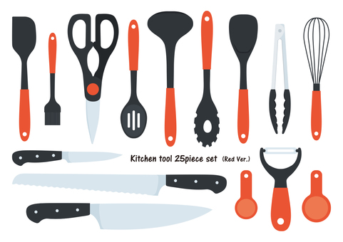 kitchen tools(Red)