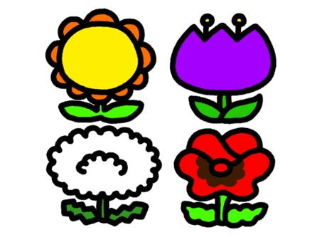 Flower set 3