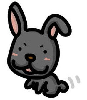 검은 토끼