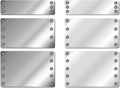 鋼板框架(對角/螺絲增量)設置1