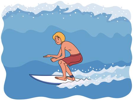 Summer surfer