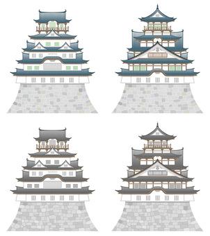 日本の城 セット