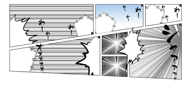 Manga frame