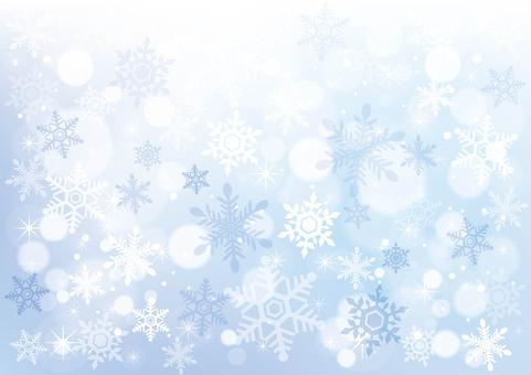 雪と星_背景12