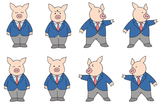 Pig boo, teacher story