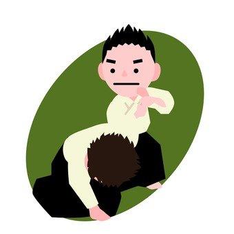 Aikido practice (2)
