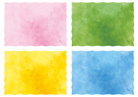 Watercolor background × 4