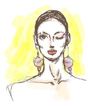 Earring women