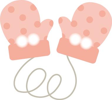 Gloves_ pink