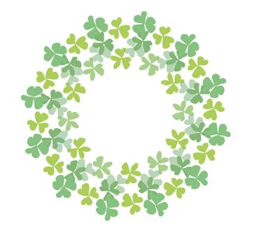 綠色的圓圈