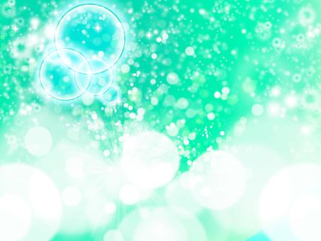 Glittering green / dark color