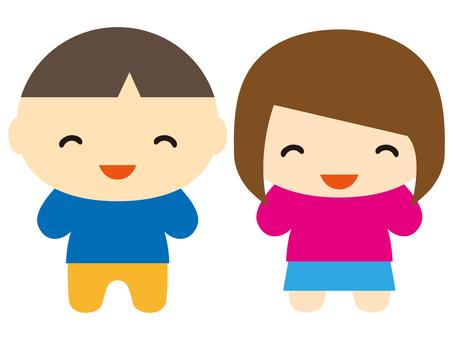 男孩和女孩