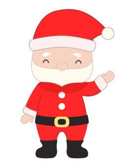 손 흔들기 산타 클로스