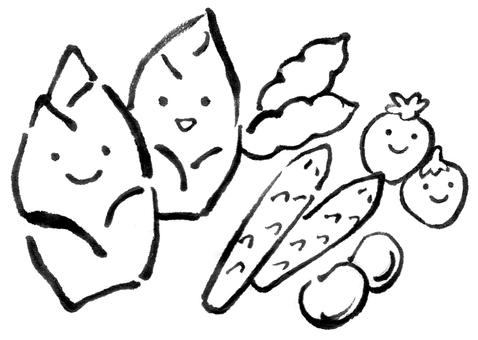 Spring vegetables 1