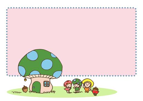 fairy_ Mushroom fairy and mushroom house 4