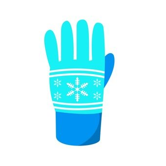 Gloves Blue