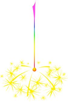 Handheld fireworks _ incense fireworks