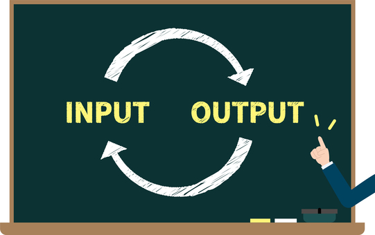 Image of input and output