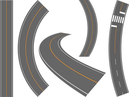 곡선 도로