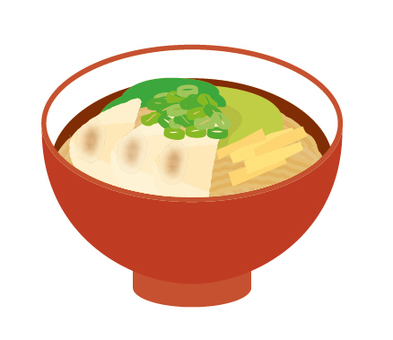 Ramen wonton noodles