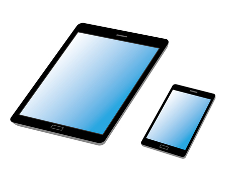 Smartphone and tablet 2