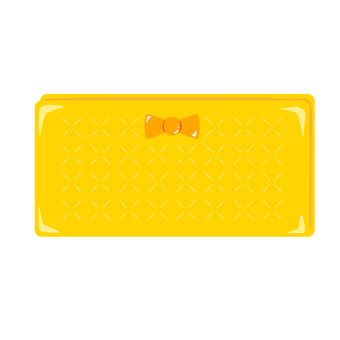Luck rose yellow wallet