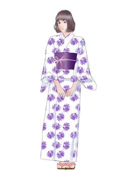 Yukata girl 06