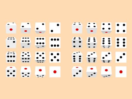 Rolling dice sprite image