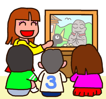 Children's favorite picture-story show begins