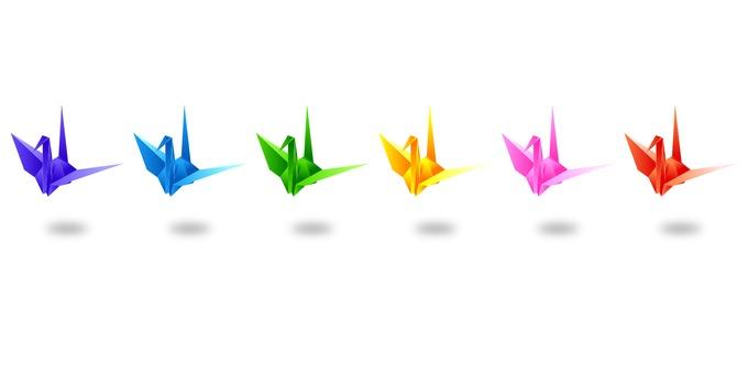 Folding cranes - No.2