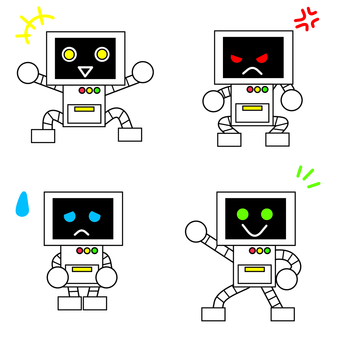Robot emotions and pleasures
