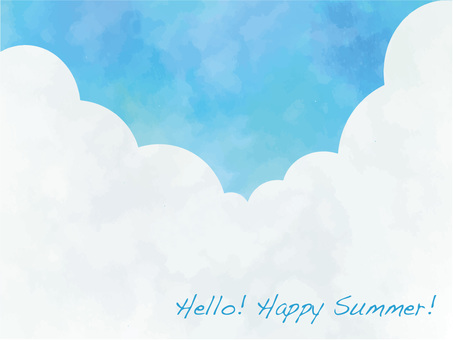 푸른 하늘 프레임 ver01