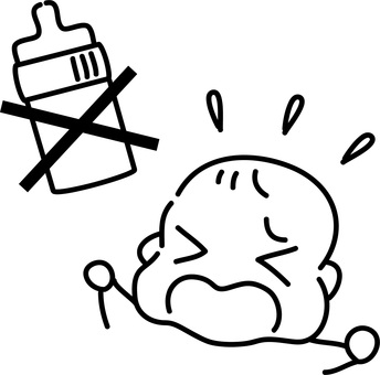 Baby who hates baby bottles / cannot drink milk