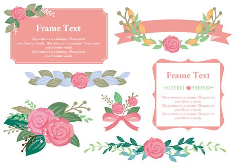 Set material 025 Roses set