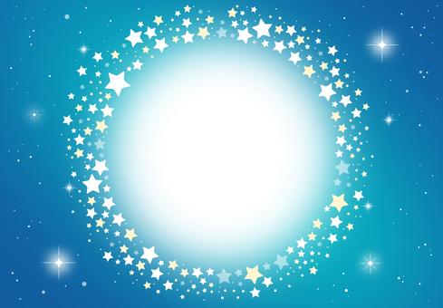 밤하늘 프레임 별