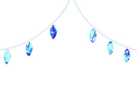 Glitter Gem Blue Blue