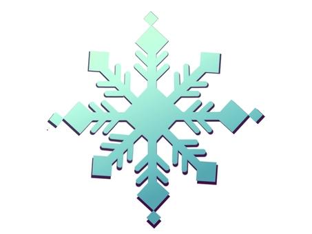 Snow crystal ④