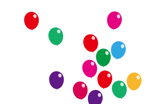 Wallpapers Flying balloons